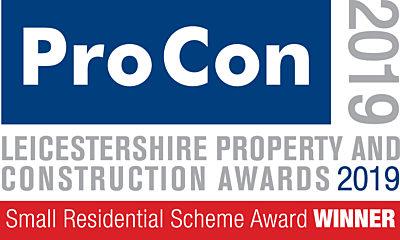 Small Residential Scheme of the Year Award 2019 Winner logo