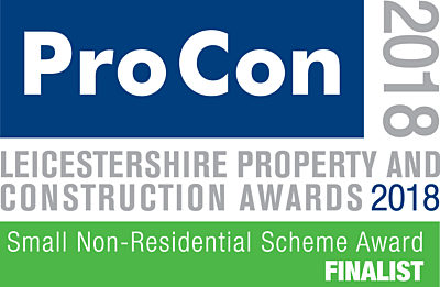 Small Non-Residential Scheme of the Year Award 2018 Finalist logo