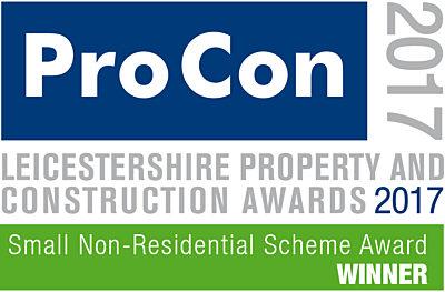 Small Non-Residential Scheme of the Year Award 2017 Winner logo